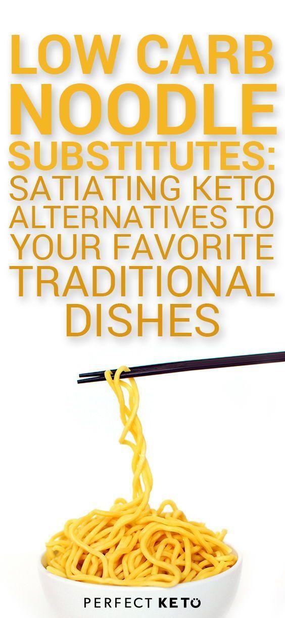 Low Carb Noodle Substitutes: Satiating Keto Alternatives ...