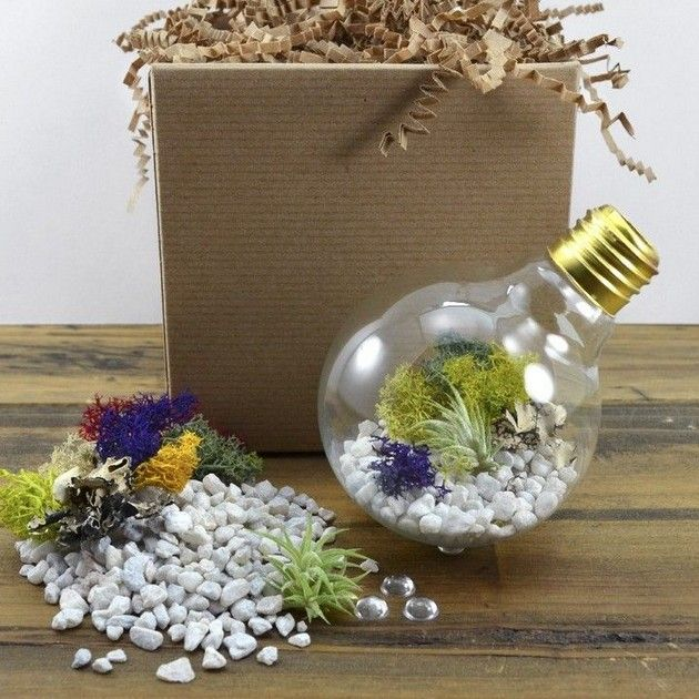 Re Purposed Light Bulb Craft