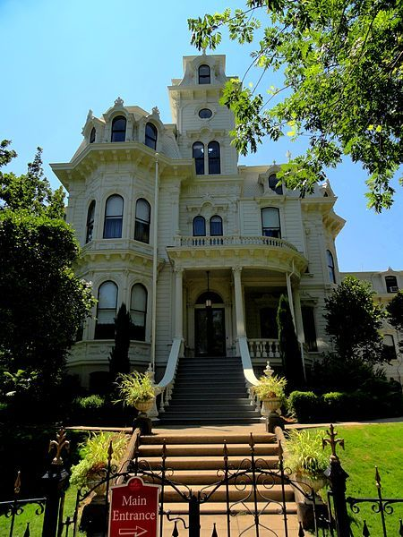 Historic Governor's Mansion of California, the former official home of the Governor of California. It housed 13 governors and their families from 1903 to 1967. The thirty-room Second Empire-Italianate Victorian mansion was built in 1877 for local hardware merchant Albert Gallatin. The State of California purchased the house in 1903 to serve as a governor's mansion. Currently, the state of California does not have an official residence or mansion for its governor.
