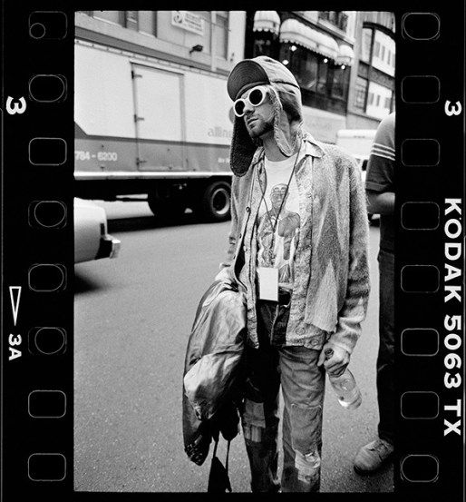 Stunning Images from Kurt Cobain's Last Photoshoot