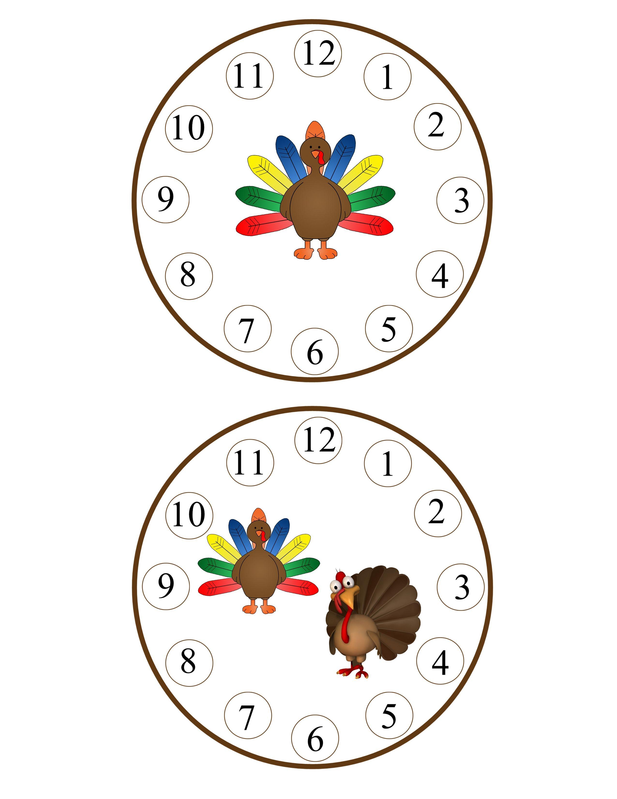 Turkey Count Amp Clip 1 6