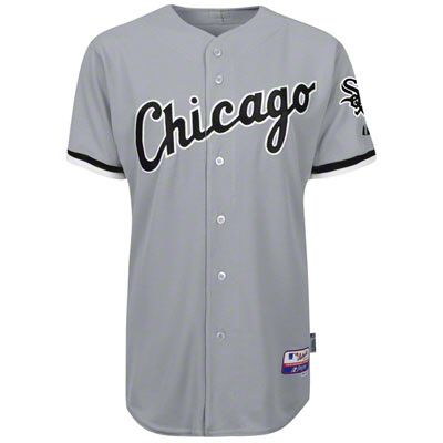 designer fashion 707a0 be8d6 Chicago White Sox Road Grey Authentic On-Field MLB Jersey ...
