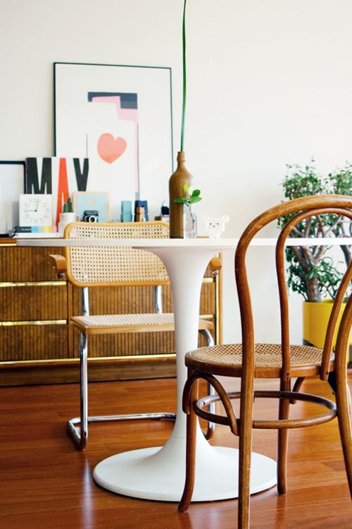 Caned Chair Old Brand New Blog Dining Room Decor Interior Minimalism Interior