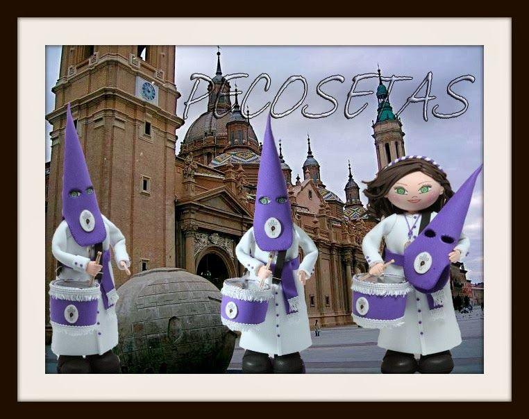 pecosetas: Fofucha Cofrade-Pecosetas-