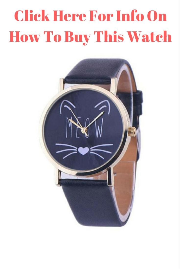 You have to love this cat watch.  Is is subdued watch that is fun to wear.  Another line of our great cat jewelry.  Click the image for info on how ot buy.
