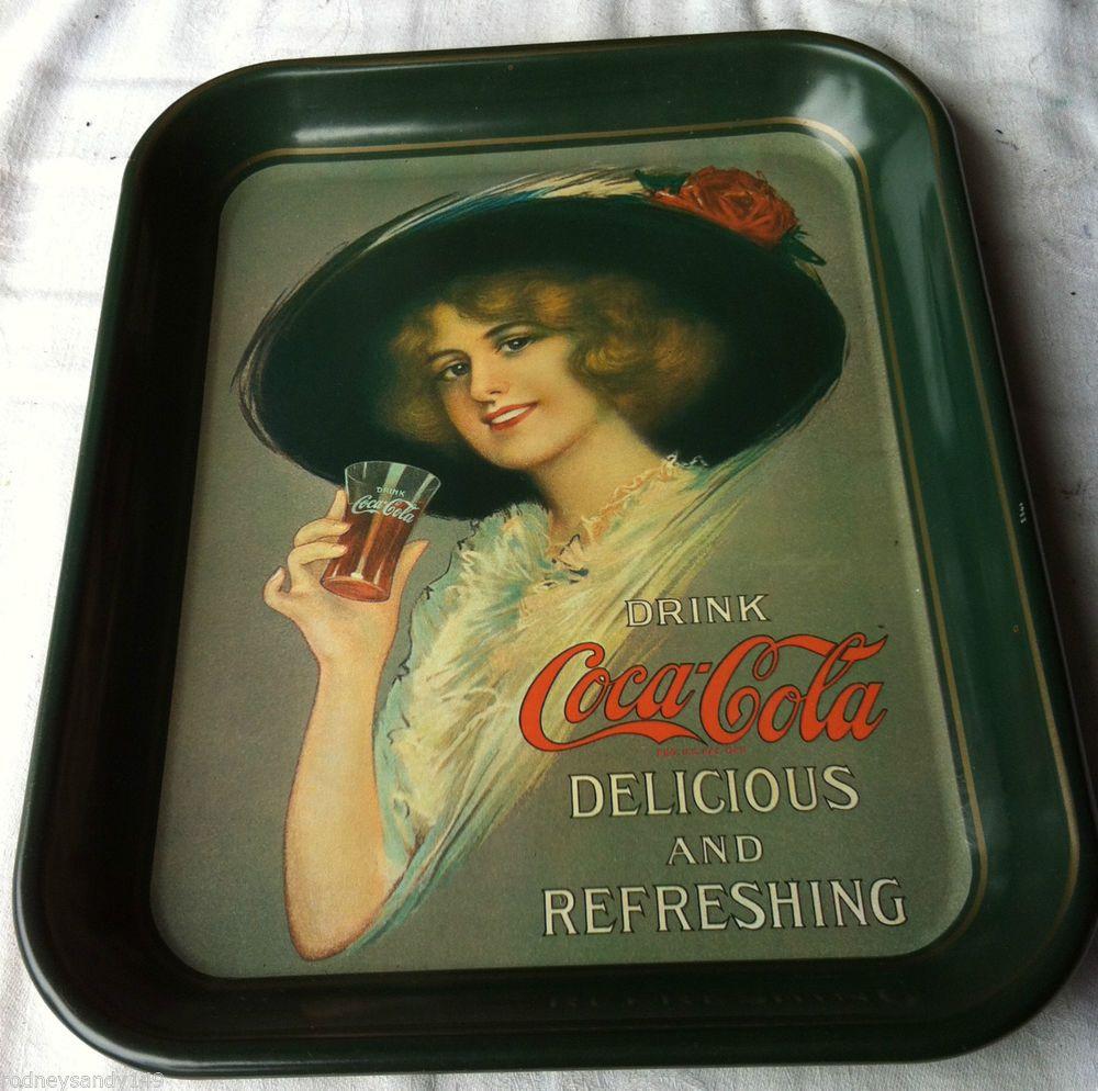 Nice Reproduction Coca Cola Tray Drink Coca Cola Delicious