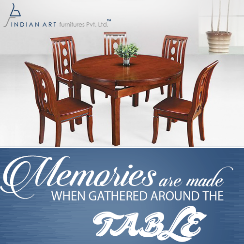Art Furniture Dining Table Design, Best Quality Dining Room Furniture Manufacturers