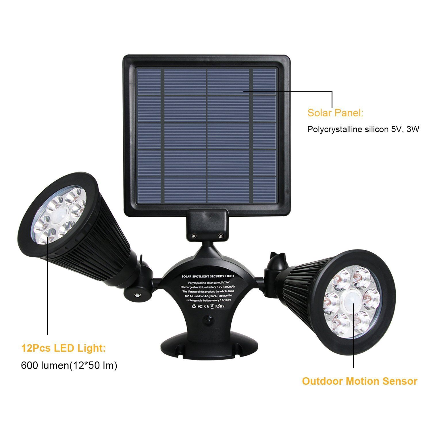 The Solar Panel Has Some Angle Adjustment But Could Be More I M