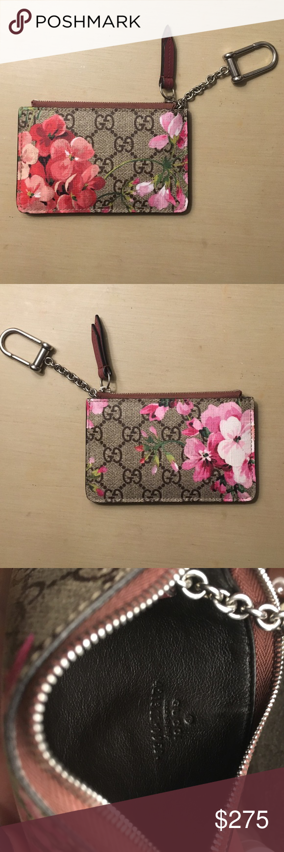 3bcba9cf82e (LIMITED EDITION) Gucci blooms key case