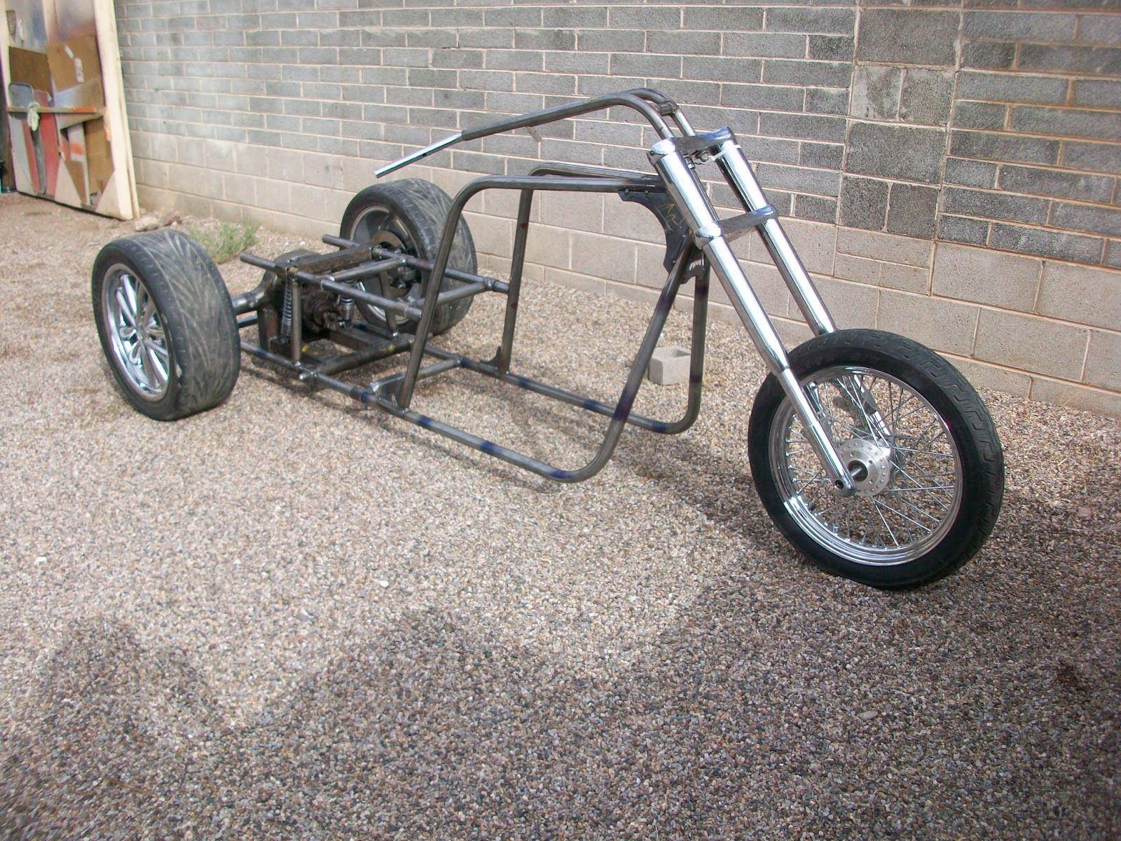 Summary -> Chopper Trike Frame Plans Happyhoikushicom