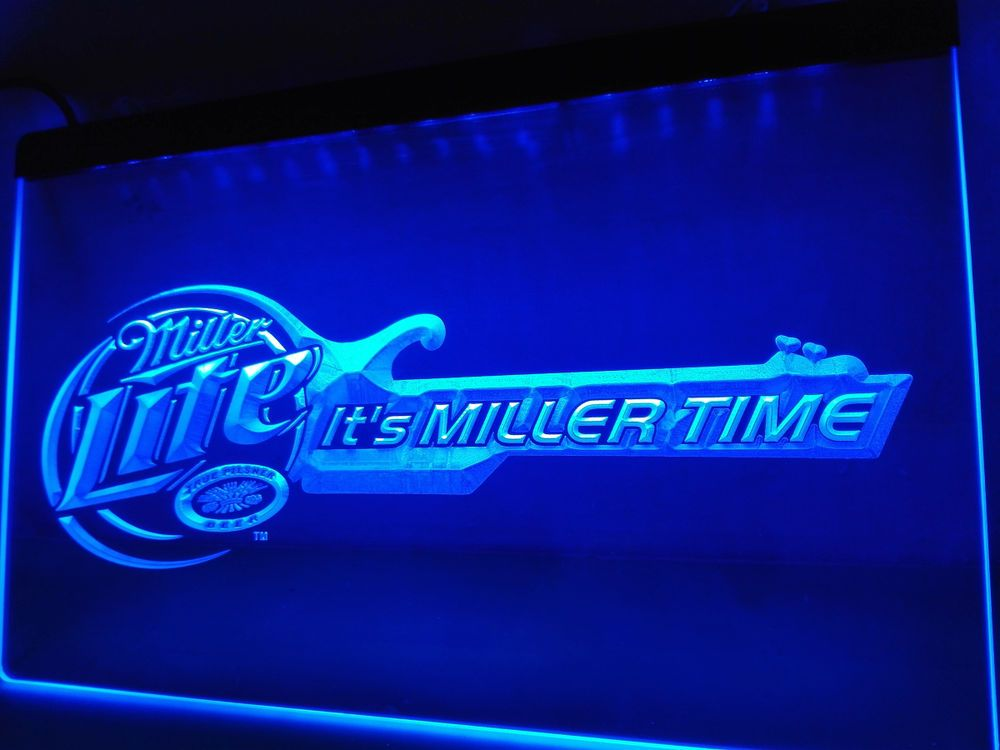 Miller lite beer bar guitar led neon light sign home decor crafts miller lite beer bar guitar led neon light sign home decor crafts aloadofball Gallery