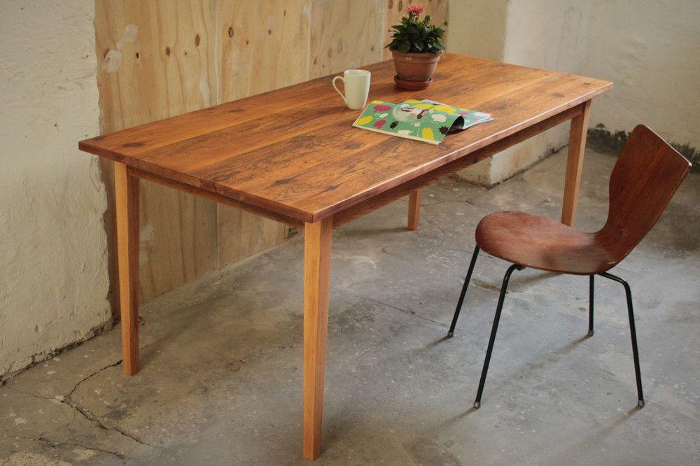 Esstische Esstisch Aus Alten Dielen Tisch Upcycling Vintage Ein Designerstuck Von Nonconform Bei Dawanda Tisch Esstisch Haus Deko