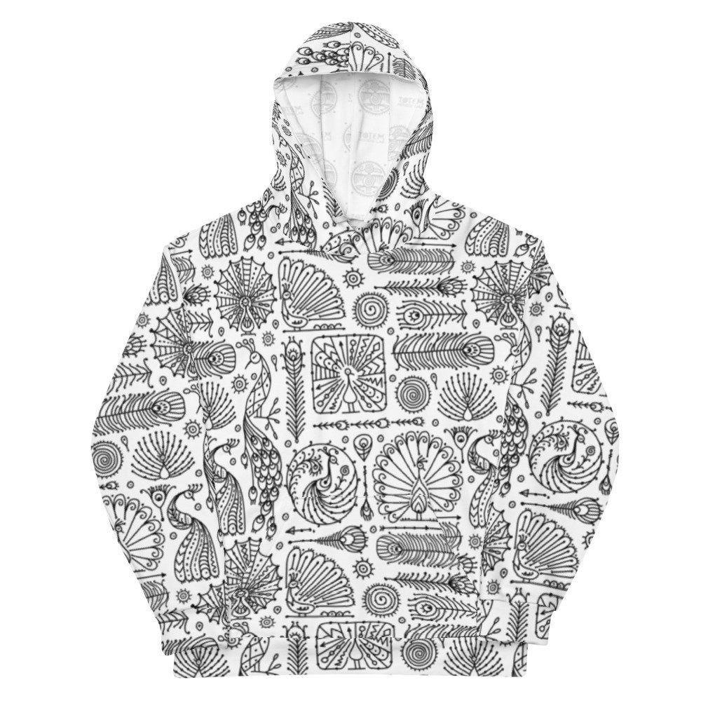 This Item Is Unavailable Etsy Printed Sweatshirts Peacock Print Hoodies [ 1000 x 1000 Pixel ]