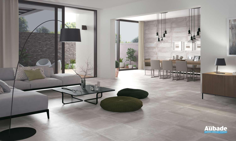 Carrelage gris Azteca Elite  Décoration salon salle à manger