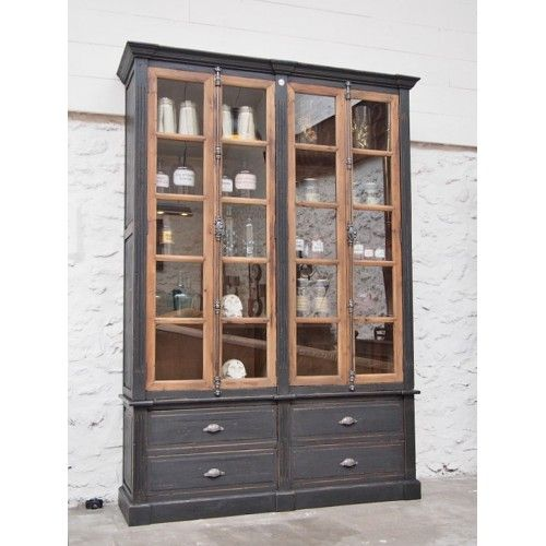 Vaisselier Style Industriel: Bibliotheque Style Pharmacie
