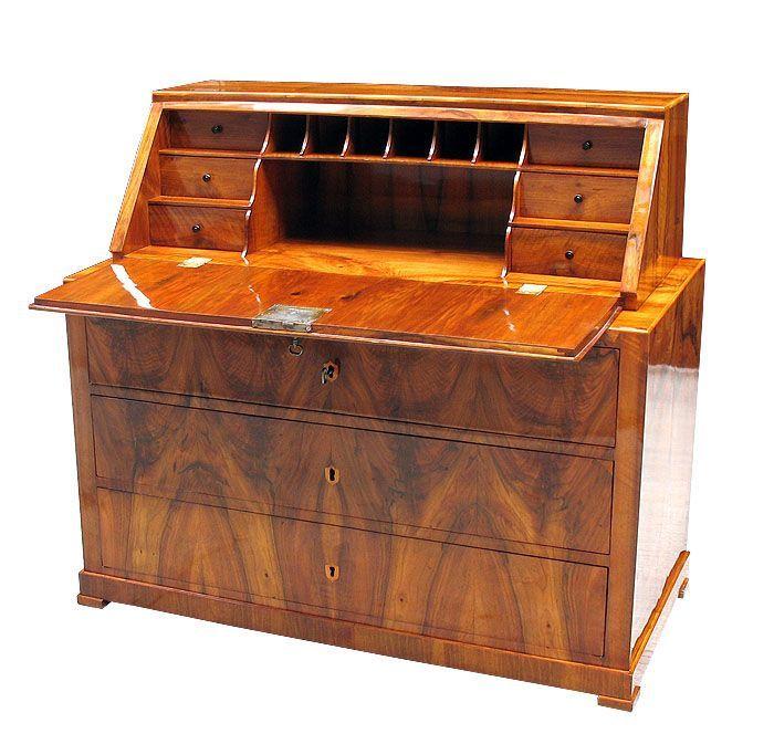 1stdibs Rare German Biedermeier Writing Desk