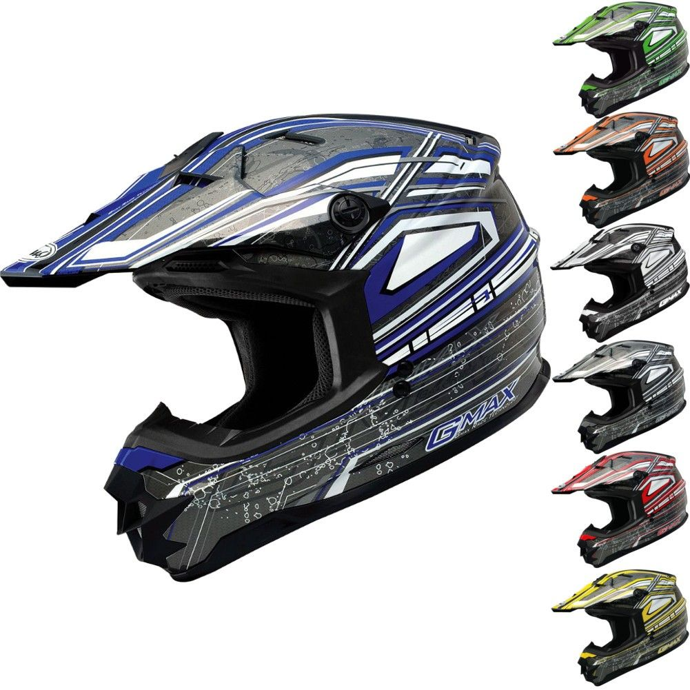 Gmax Gm76x Bio Motocross Helmets Motocross Helmets Helmet Motocross