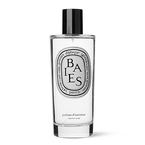 habitualbliss:  Just bought this delightful room spray: Baies by Diptyque. Follow me on instagram @ habitualblisss