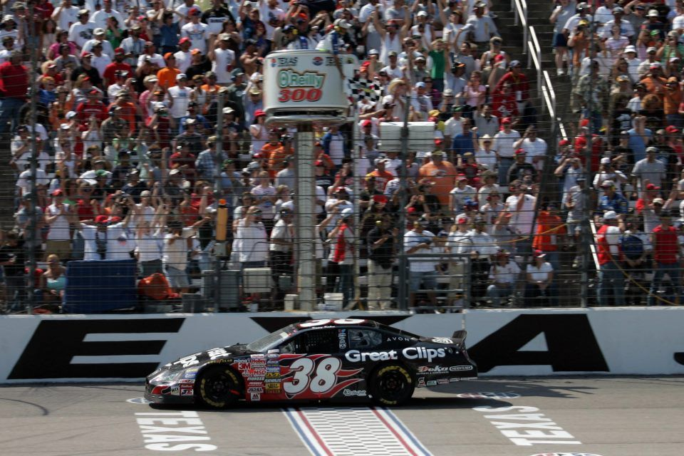 April 16, 2005 Kasey Kahne, driver of the No. 38 Great
