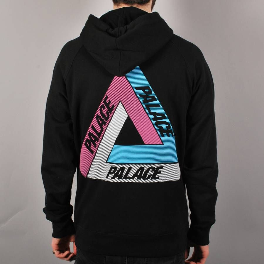 palace-skateboards-palace-tri-line-pullover-hoodie-black-multi ...
