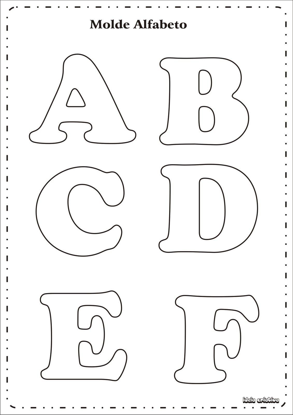 17 best ideas about Letras Para Imprimir Grandes on Pinterest ...