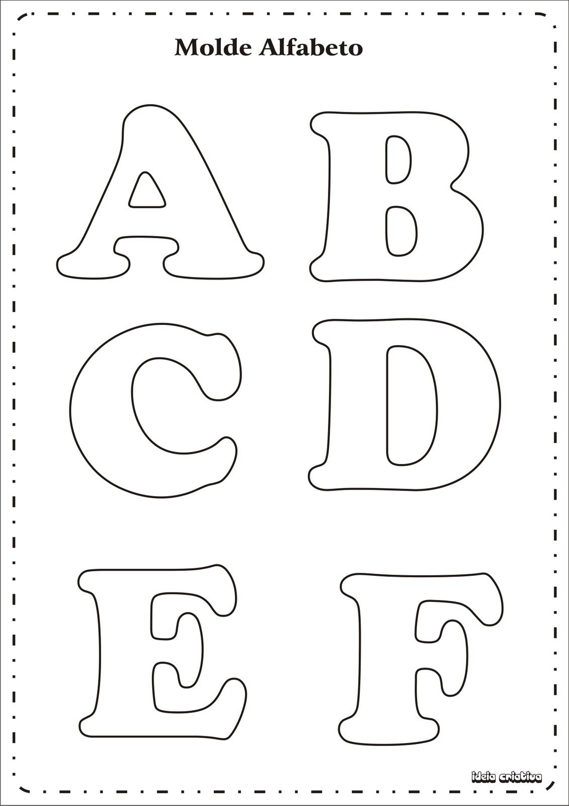 Pin de carmen martin en alfabetos | Pinterest | Alfabeto, Eva y Molde