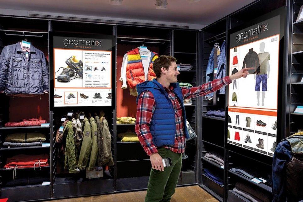 Digital interfaces make instore shopping more