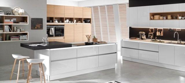 Kuchnia Penthouse, Nolte Küchen Nowoczesne kuchnie Pinterest - nolte küchen bilder