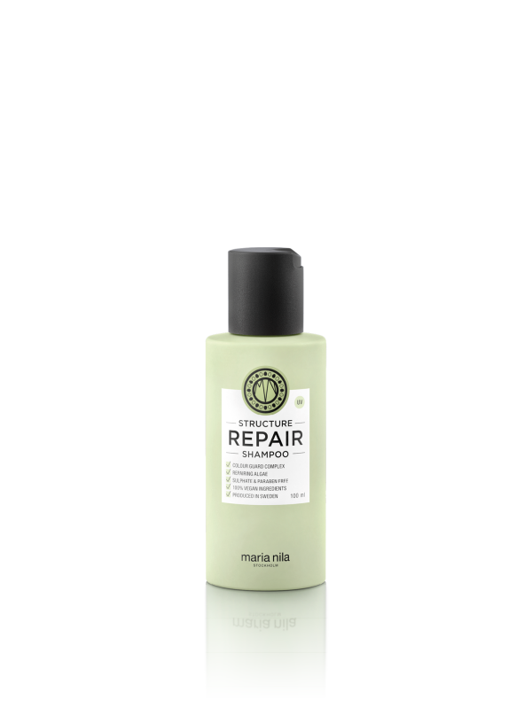 a gentle shampoo for damaged dry and chemically treated hair that