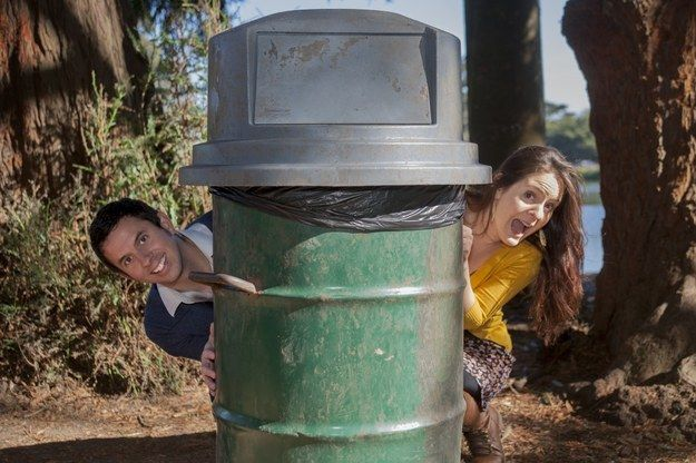This trashy engagement. | 24 Awkward Engagement Pictures That Will Make Being Single Feel So Good