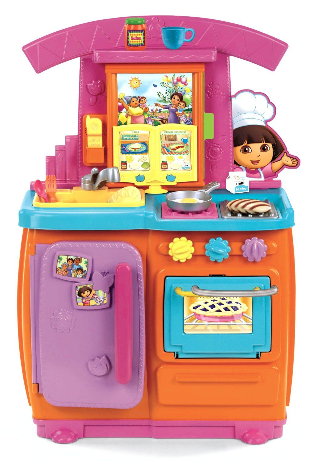 64ff7dfc6 Fisher Price Dora Kitchen Playset