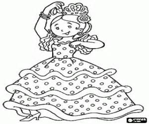 spain flamenco dancers coloring pages coloring pages