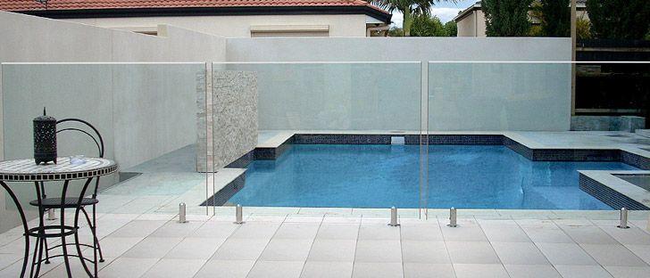 Glass Pool Fence frameless glass pool fencing brisbane, gold coast - aqua vista