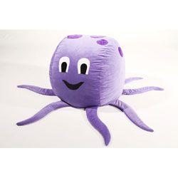 Cute Octopus Bean Bag Chair Kids Bean Bags Stuffed