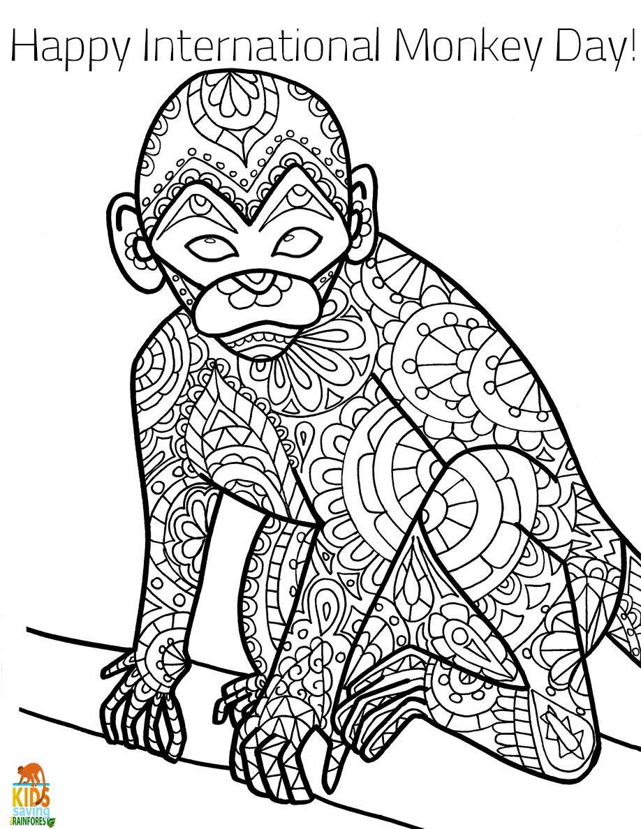 Happy International Monkey Day 🐒 Monkey Day is an ...