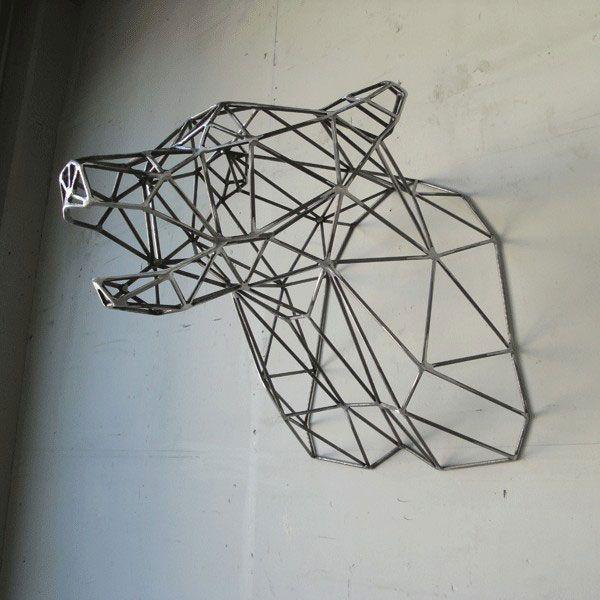 wire frame taxidermy