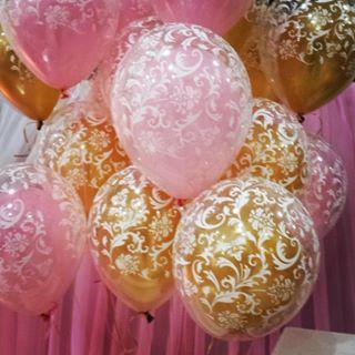 decoração com balões chique - Pesquisa Google