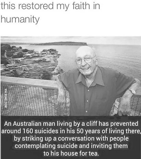 This man is a hero