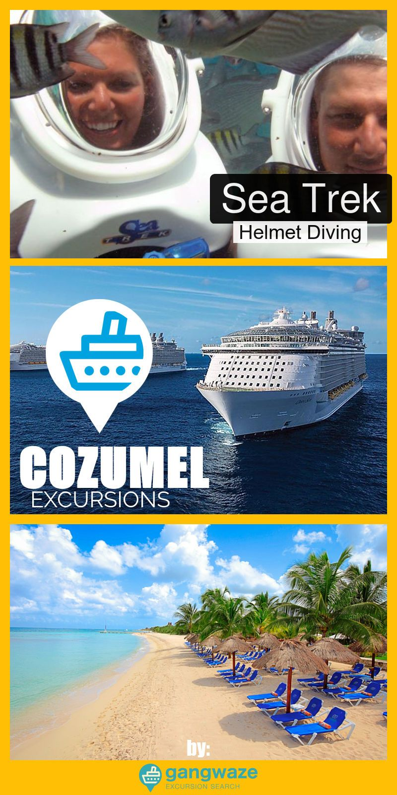 Sea Trek Helmet Diving Cruise Excursion Cozumel Cruise Port