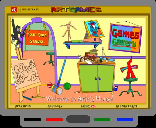 SMART BOARD Art Games Art games for kids, Game art