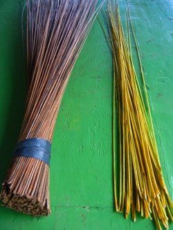 Learn How To Make A Broom Sticks From Coconut Midribs Broom Coconut Palm Broomstick