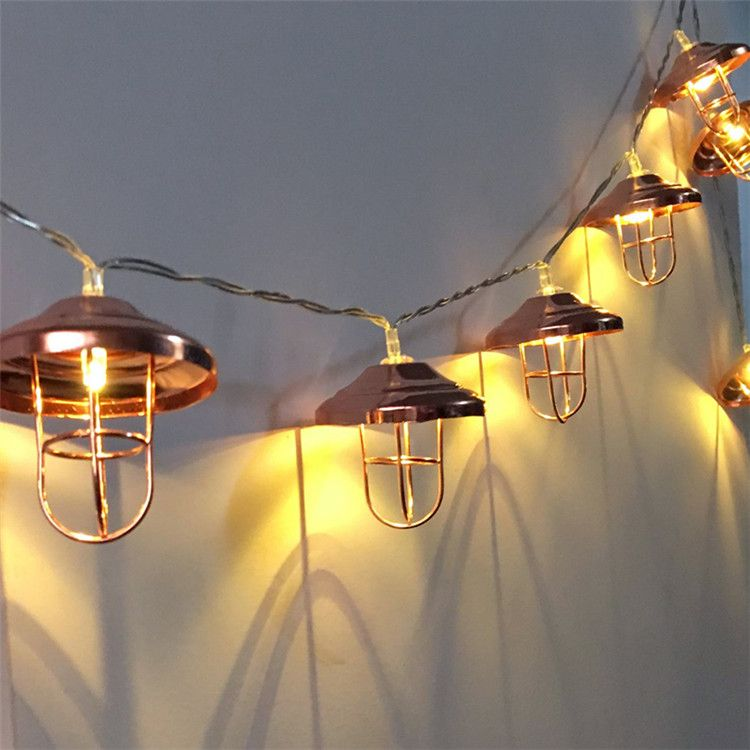 Novelty 20 LED 3M Metal Lampshade Party