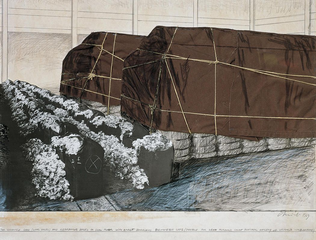 Pin Auf Christo And Jeanne Claude Sketches