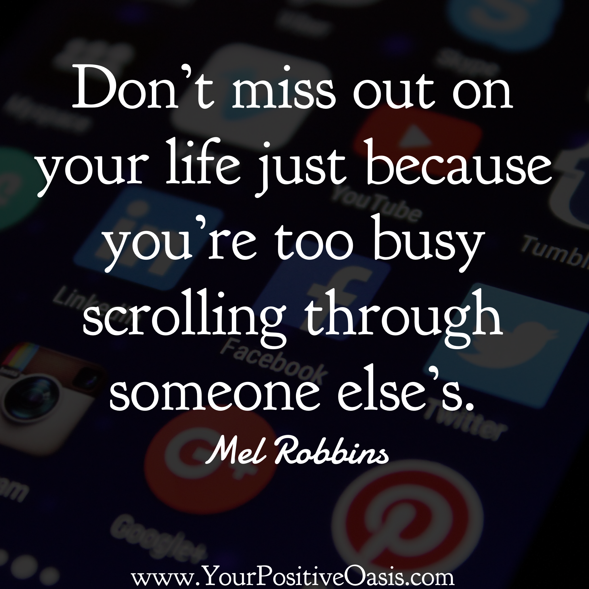 Live Your Own Life Quotes: 30 Mel Robbins Quotes That Will Inspire You To Take Action