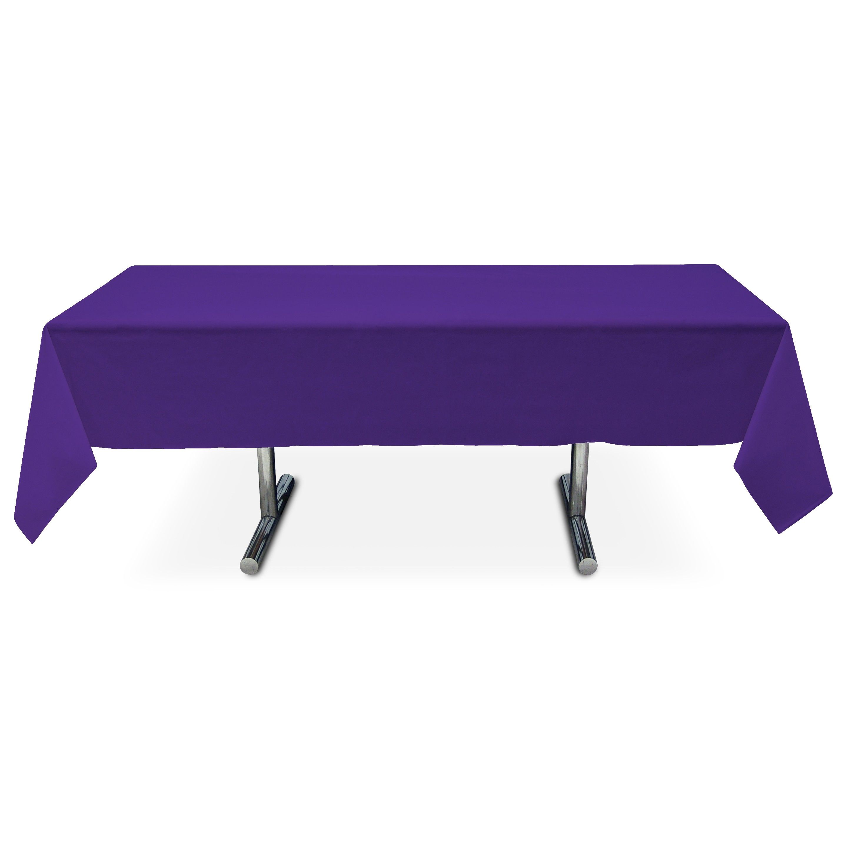 Super Plastic Table Cover Rectangle Purple Add The Groom Alphanode Cool Chair Designs And Ideas Alphanodeonline