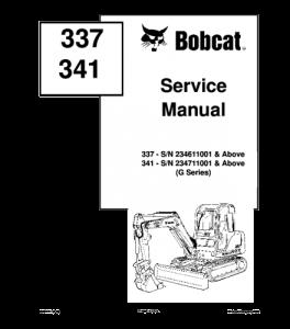 Best download bobcat e55w e60 e80 excavator service repair