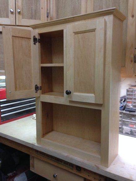 Best Bathroom Wall Cabinet Woodworking In 2019 Bathroom 640 x 480