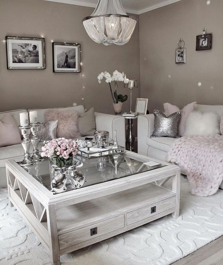 awesome swoon worthy glam living room decor ideas livingroomideas livingroomfurniture livingroomdecor also what you need to know about home diy apartments small rh pinterest