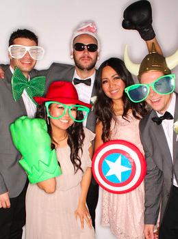 Vinna & Johnathan Wedding 12-8-12 | PictureDust.com | Dallas Photo Booth
