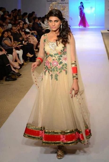 Pakistani wedding party dresses - Embroidered Party dresses 2012 ...